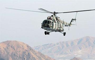 Военный вертолет Кыргызстана неудачно сел на спорной границе с Таджикистаном0