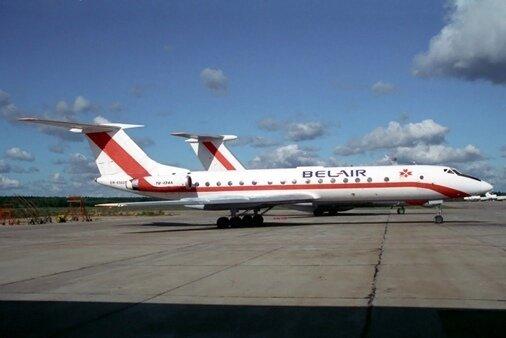 У 1990-я ў небе ляталі беларускія бел-чырвона-белыя самалёты1