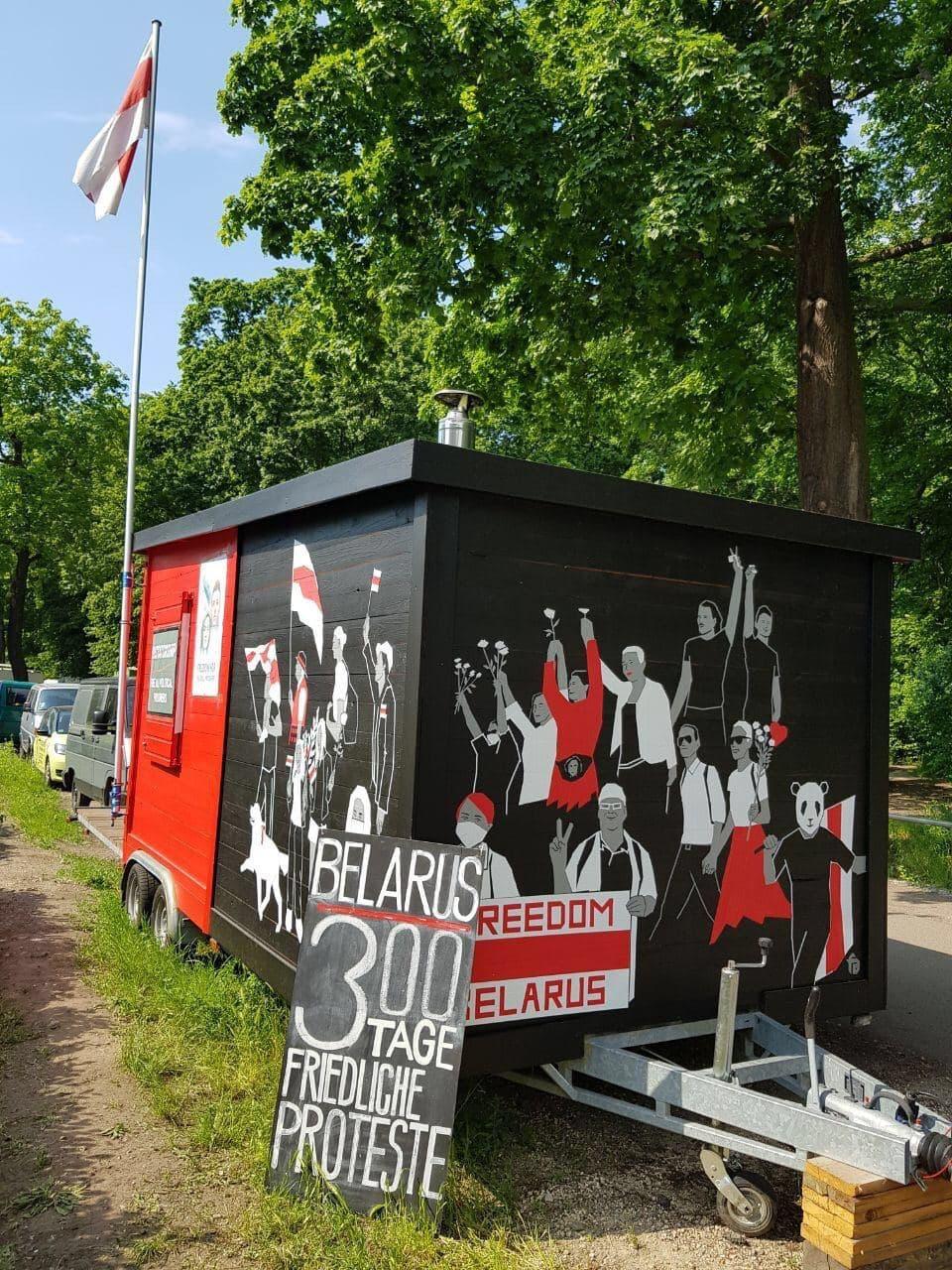 Акции в поддержку свободной Беларуси прошли по всему миру2