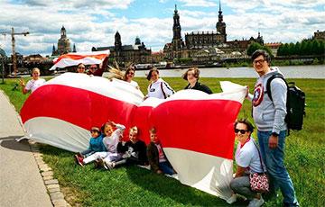 Акции в поддержку свободной Беларуси прошли по всему миру0