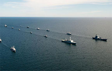 На Балтике начались крупные учения НАТО Baltops