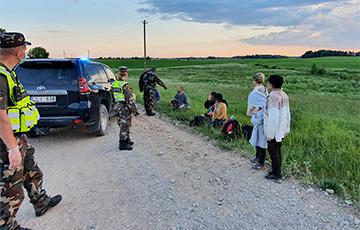 Литовские пограничники задержали в воскресенье рекордное количество мигрантов