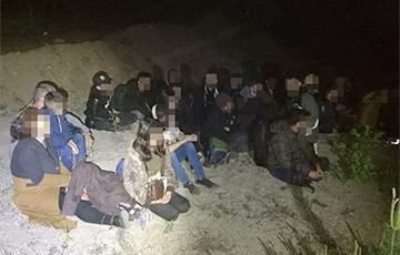 В Литве снова задержали нелегалов, которые пришли из Беларуси