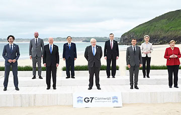 Беларусь, Украіна, клімат, COVID: галоўныя заявы саміту G7