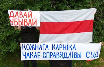 Белорусы поддержали смелую Полину Шарендо-Панасюк