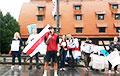 Белорусы по всему миру выходят на акции солидарности