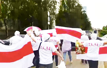Students, Pensioners Continue To Protest In Minsk