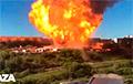 В Новосибирске на АЗС произошел мощный пожар: видео