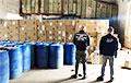 В Украине задержали крупную партию контрабандных сигарет из Беларуси