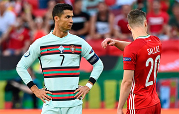 Роналду стал самым возрастным автором дубля в истории Евро