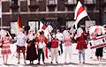 Беларусы Нямеччыны правялі акцыю ў падтрымку Паліны Шарэнда-Панасюк