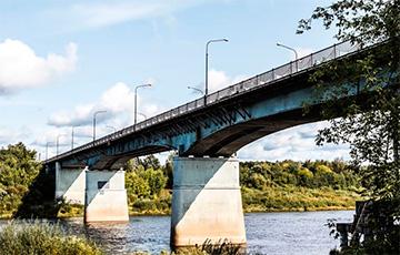 В Новополоцке закрывают мост через Двину