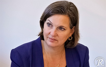 Вікторыя Нуланд: ЗША ўвядуць новыя санкцыі супраць рэжыму Лукашэнкі на наступным тыдні