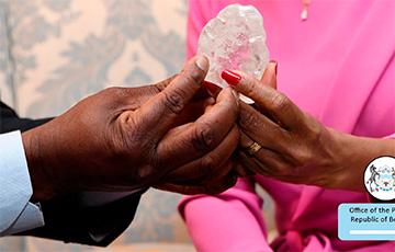 В Африке нашли один из самых больших алмазов в истории