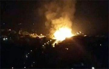 На газопроводе в оккупированном Луганске произошел мощный взрыв