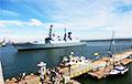 Караблі NATO ўвайшлі ў порт Адэсы: уражальныя фота