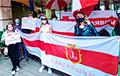 Беларусы Адэсы пікетавалі консульства Аўстрыі
