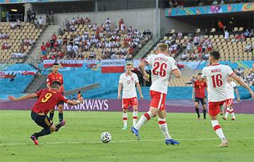 ЧЕ-2020: Сборная Испании впервые за 27 лет не обыграла Польшу