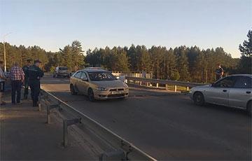 В Борисове в четвертый раз за месяц пришел в негодность мост