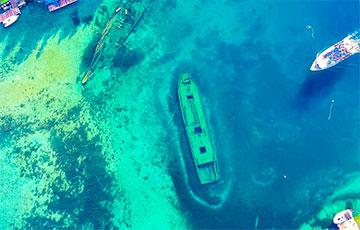В Сингапуре найдены затонувшие корабли с несметными богатствами