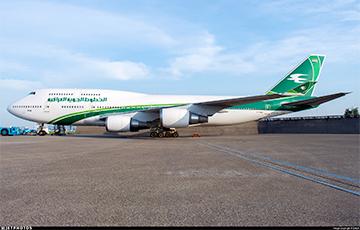 У Менск з Багдаду прыляцеў двухпалубны Boeing 747