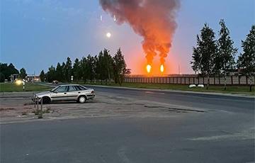 Emergency Flares Lit Above Naftan And Palimir