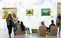Фотофакт: «Ева» – белорусская «Мона Лиза» в центре Минска