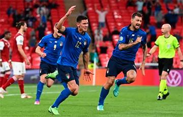 Евро-2020: Италия победила Бельгию0