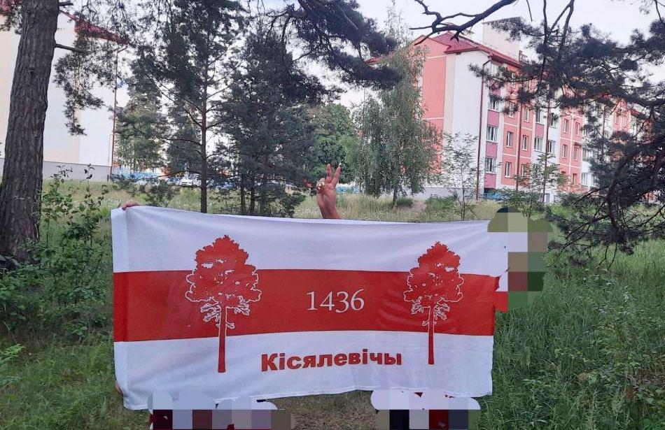 Белорусские партизаны вышли на вечерние акции солидарности и протеста2