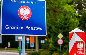 Польские пограничники задержали на границе с Беларусью рекордное число мигрантов