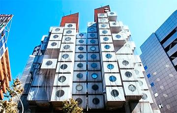 Знаменитое здание в Японии разберут на «пиксели»