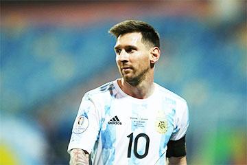 Месси побил рекорд Пеле по голам среди южноамериканских сборных
