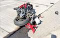 Под Минском произошла еще одна страшная авария с участием мотоцикла
