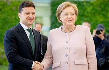 Переговоры Зеленского с Меркель длились более четырех часов