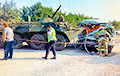 БТР Росгвардии протаранил маршрутку в Ставропольском крае РФ