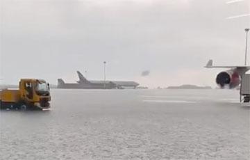 В Москве затопило аэропорт «Шереметьево»