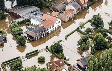 Наймацнейшая паводка ў Заходняй Еўропе: усё, што вядома
