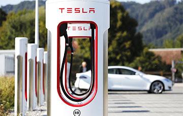 Tesla откроет свои зарядные станции для электрокаров других марок