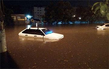 Одесса ушла под воду из-за сильнейшего ливня