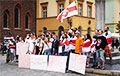 Rally Of Solidarity With Heroes Of Belarus Held In Wroclaw, Poland