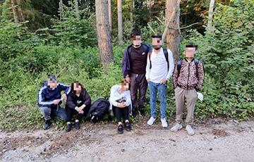 В Литве задержали 110 мигрантов, прорывавшихся через территорию Беларуси