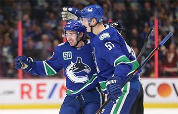 «Ванкувер» на драфце НХЛ пад 41-м нумарам абраў беларуса Клімовіча