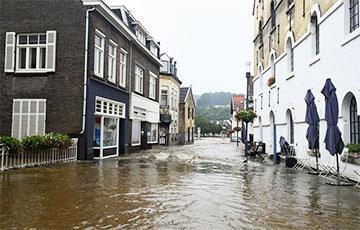Пацярпелыя ад паводкі раёны Бэльгіі зноў накрылі дажджы