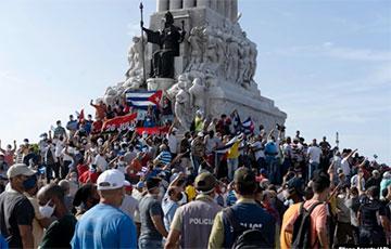 США и еще 20 стран поддержали протесты на Кубе