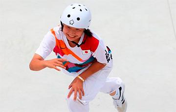 Первые в истории Олимпиады соревнования по скейбордингу выиграла 13-летняя японка