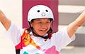 Першыя ў гісторыі Алімпіяды спаборніцтвы па скейбордынгу выйграла 13-гадовая японка