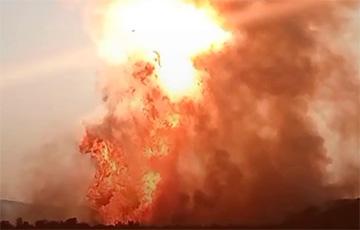 В Пермском крае загорелся один из крупнейших газопроводов России
