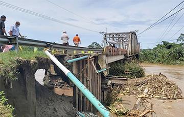 Коста-Рику накрыли сильнейшие за последние 40 лет дожди: фоторепортаж