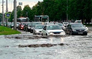 Санкт-Пецярбургу прадказалі знішчэнне праз патоп