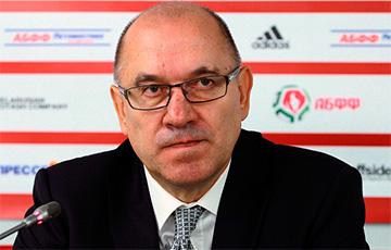 Сборную Беларуси по футболу возглавил Кондратьев